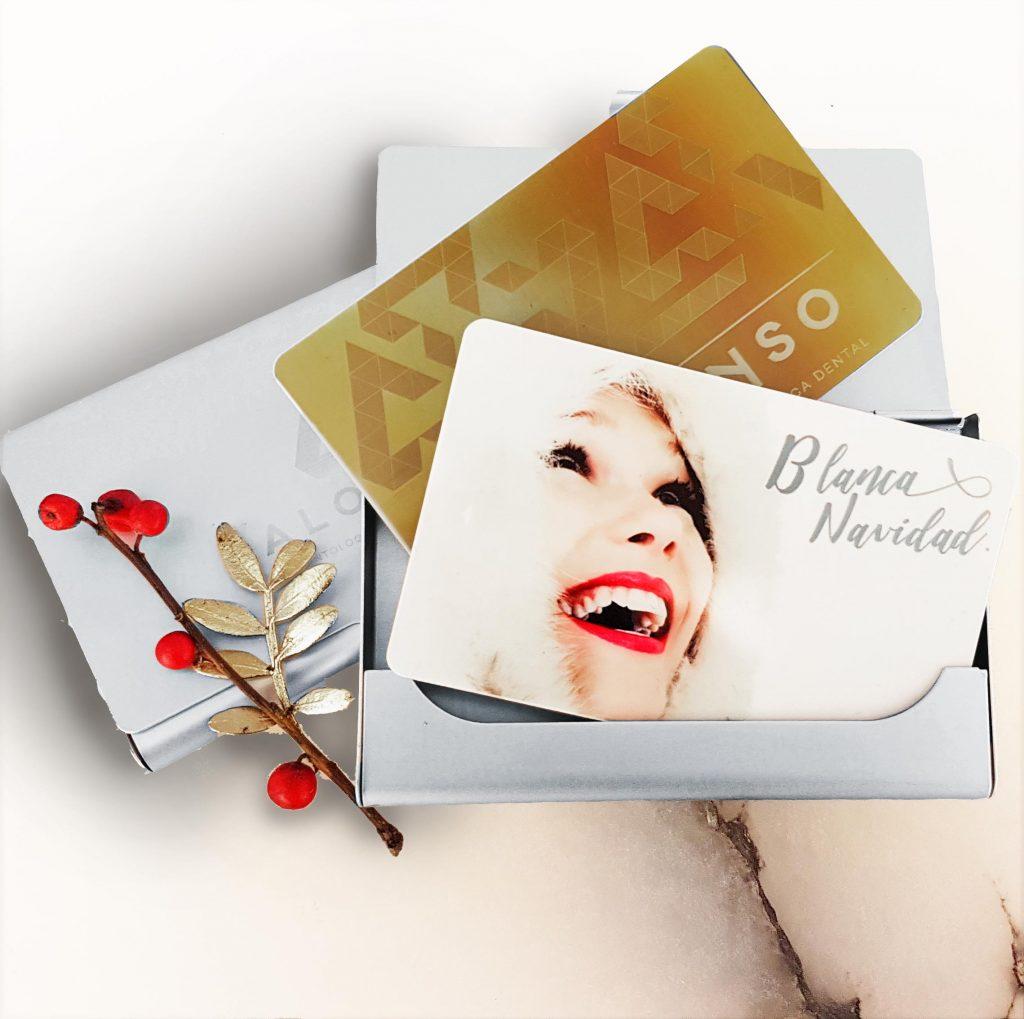 tarjeta regalo para blanqueamiento dental