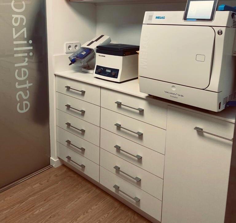 laboratorio de esterilización clínica dental Alonso