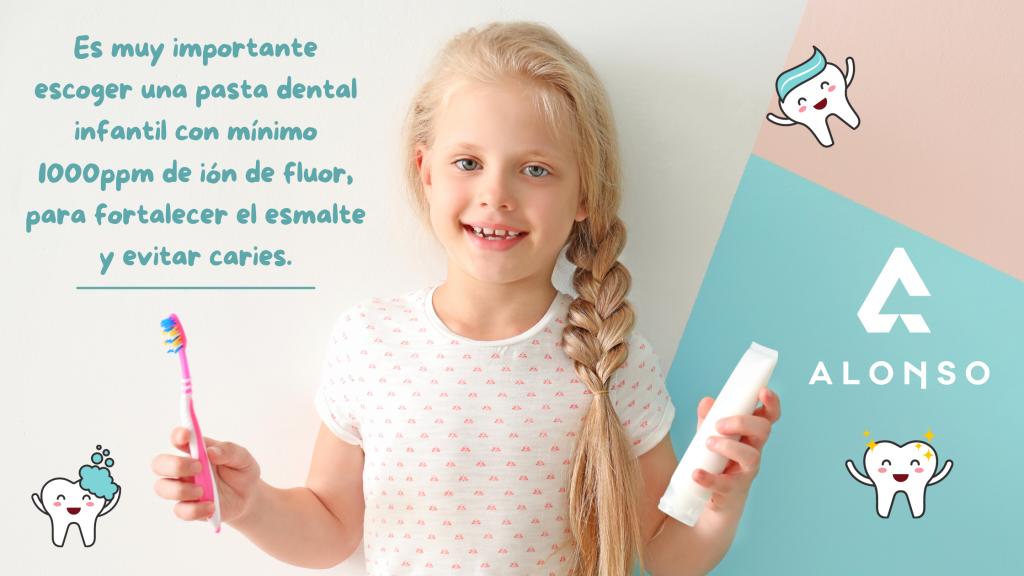la mejor pasta de dientes para niños